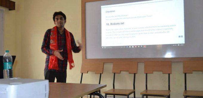 krishna Bogati Digital Marketing Training in Nepal